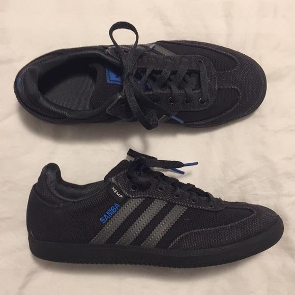 adidas samba hemp black